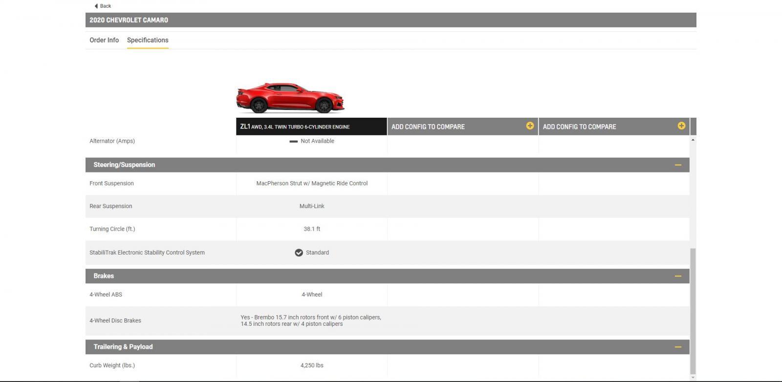 2020 Camaro - Camaro5 Chevy Camaro Forum / Camaro ZL1, SS
