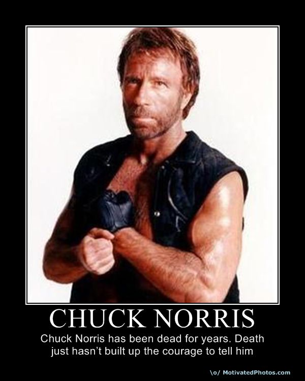 Chuck Norris doesn 39t recognize the periodic table because he only recognizes