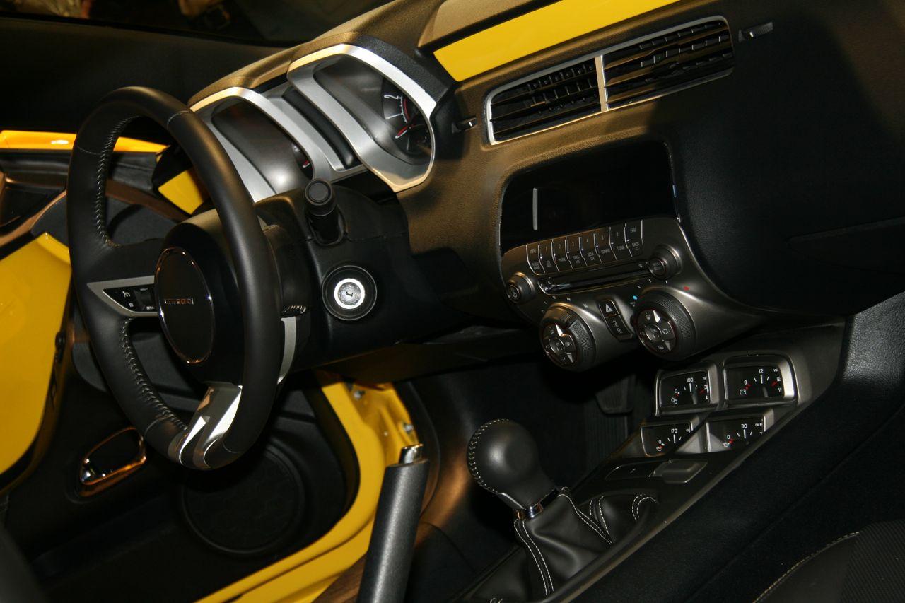 Camaro chevy camaro accessories : SEMA Camaro: Yellow Camaro Concept - Camaro5 Chevy Camaro Forum ...