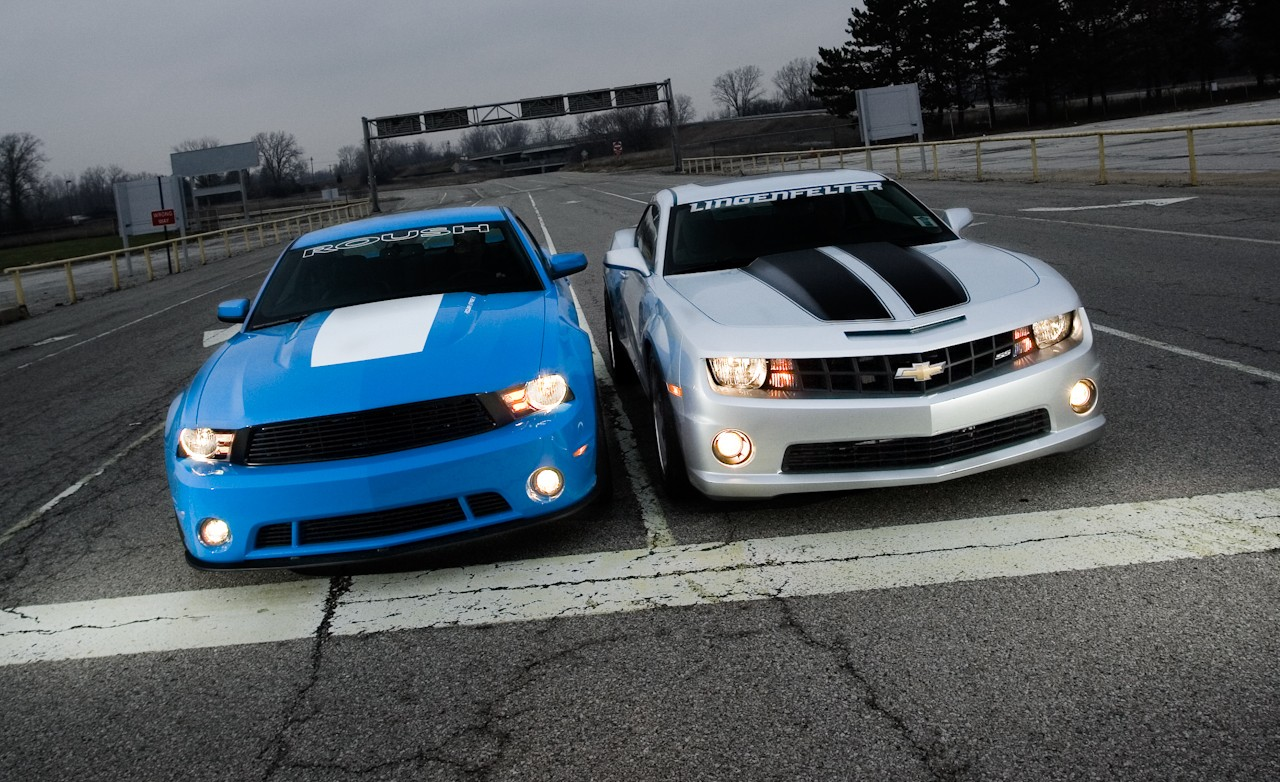 Roush Mustang Vs Lingenfelter Camaro Vadriven Com Forums