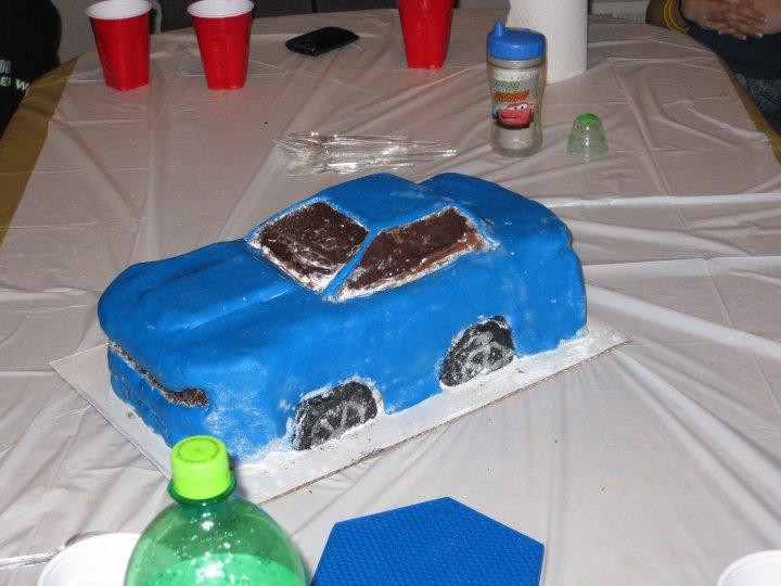 Happy Birthday Football Cake Rs