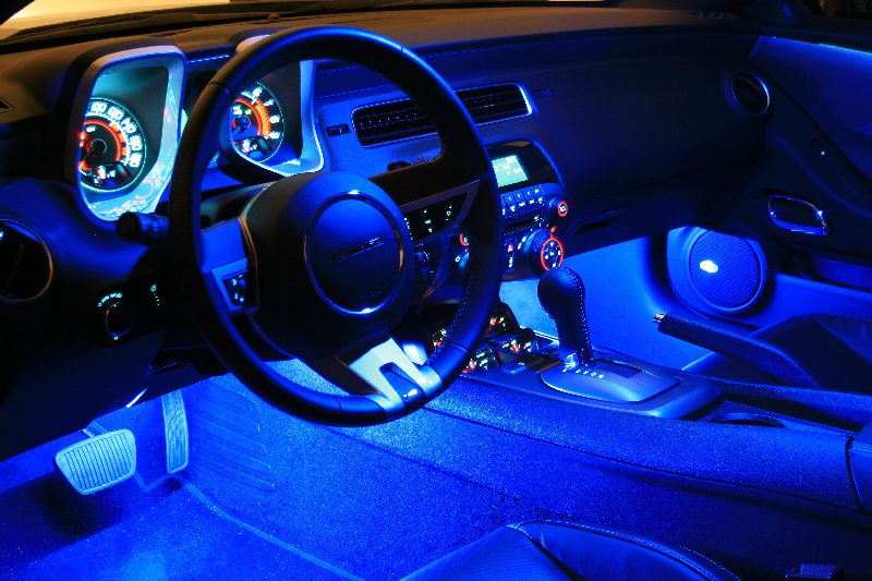 aacstyle led strip vs ccfl footwell lighting camaro5 chevy camaro forum camaro zl1 ss and. Black Bedroom Furniture Sets. Home Design Ideas