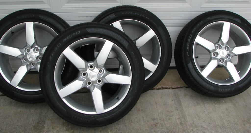 Brand New 19 Quot 2010 Camaro Silver Wheels And Tires 700