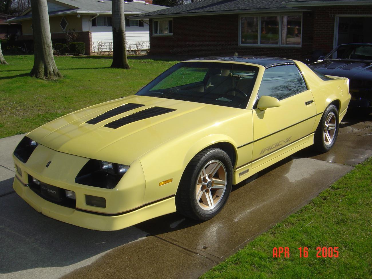 1985 Yellow L69 Iroc Z Camaro5 Chevy Camaro Forum
