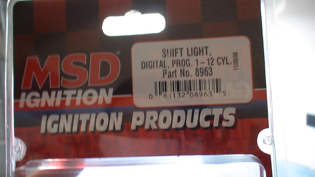 How To Install Msd Shift Light Part No8963 Camaro5 Chevy Camaro Wiring Diagram Attached Images