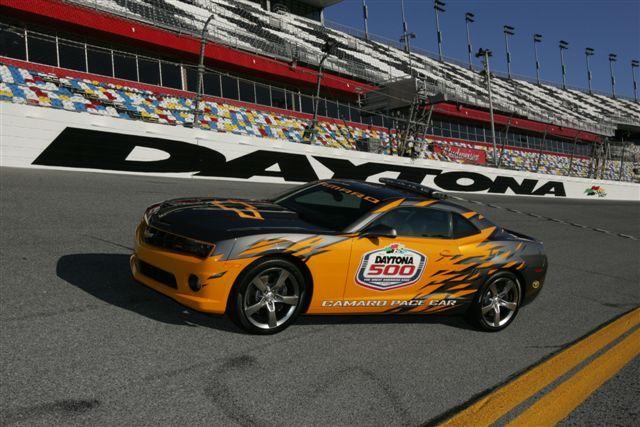 Camaro Pace Car ved Daytona 500