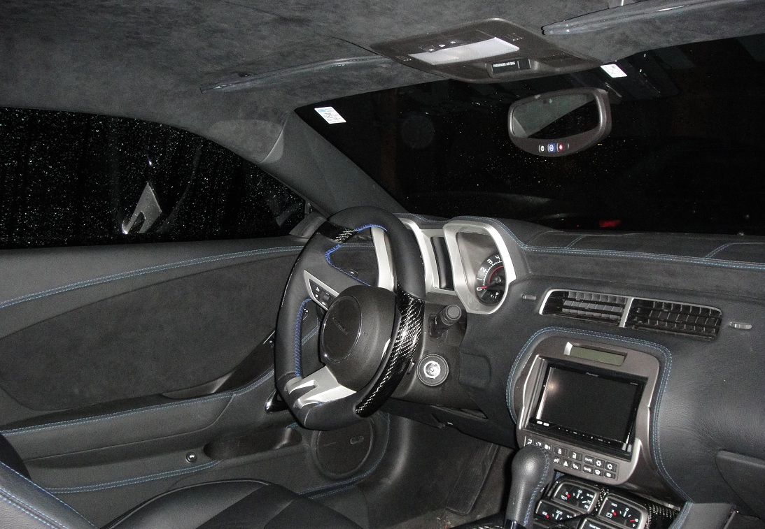 We Continue To Upgrade Our Interior New Style Carbon Fiber Steering Wheel Camaro5 Chevy