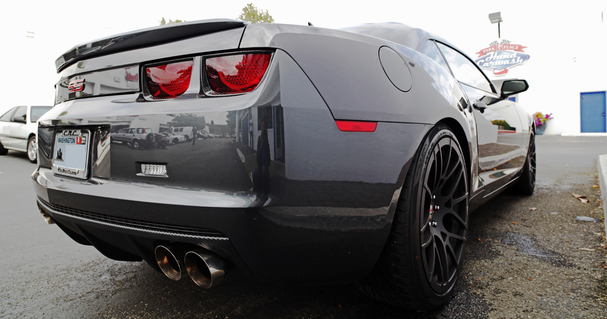 Camaro Ss Rear Bumper Diffuser With Quad Exhaust Tips Html