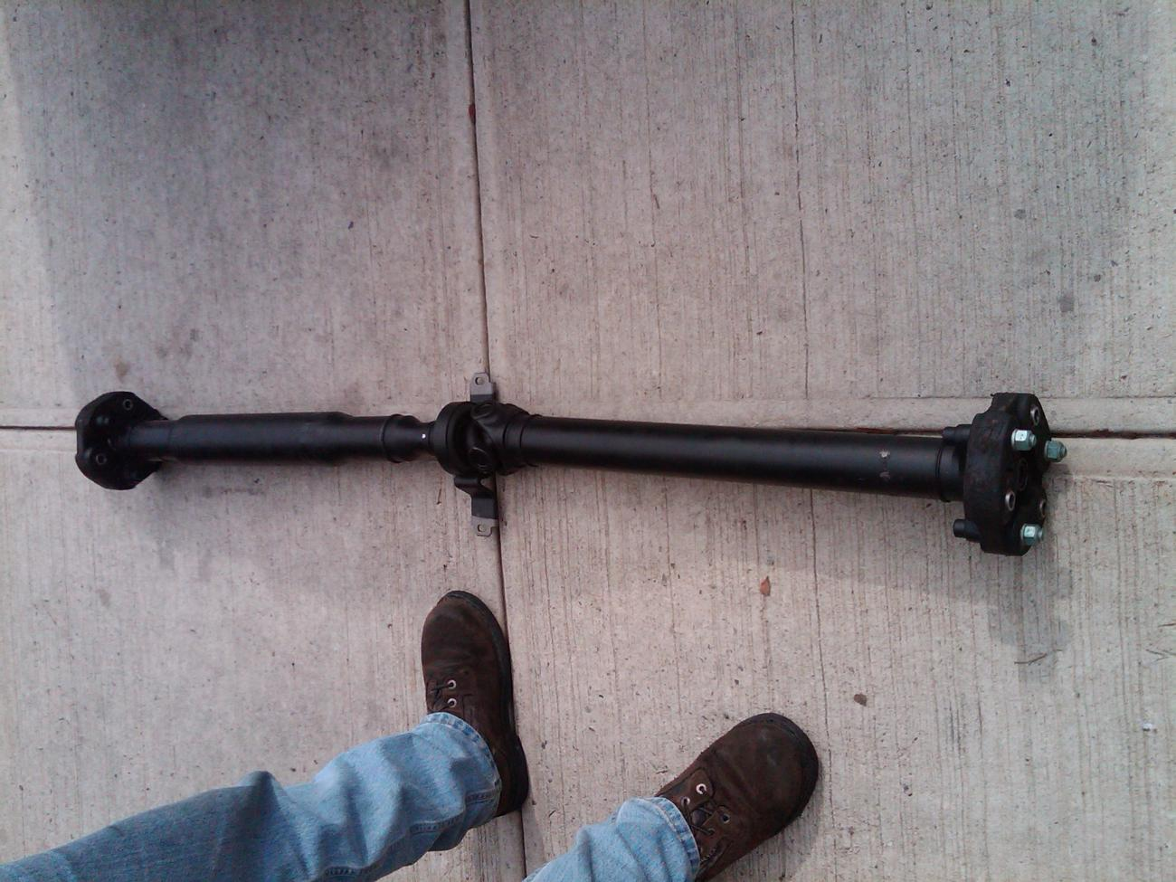 Fs Lightly Used 2 Piece Ss Camaro Driveshaft Assembly