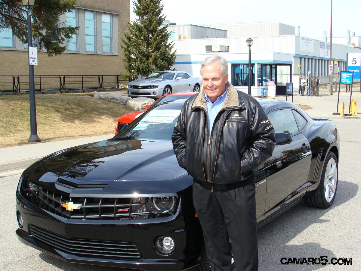 Rick Hendricks Chevrolet >> Rick Hendrick Takes Delivery Of Production Camaro 0001