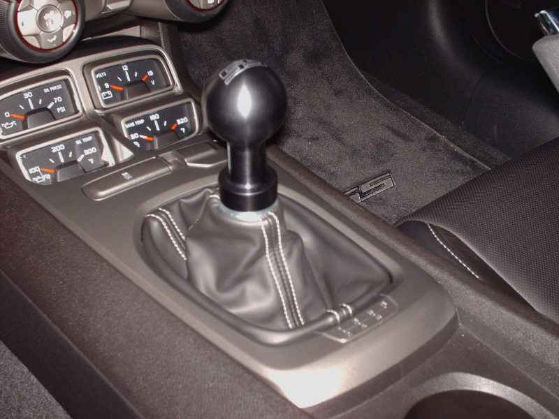 Barton Industries engraved SS shift knob kit for 2010 ...