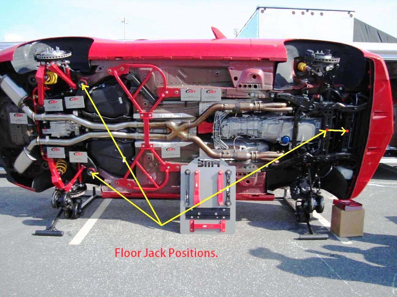 camaro oil filter location