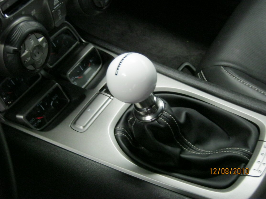 Mgw Shift Knob Installed Camaro5 Chevy Camaro Forum Camaro Zl1 Ss And V6 Forums Camaro5 Com