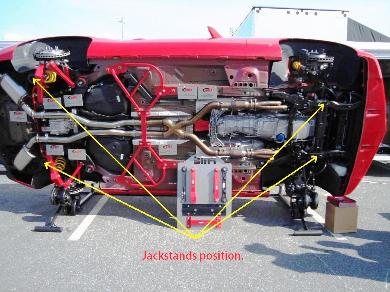 Where To Place The Floor Jack Camaro5 Chevy Camaro Forum