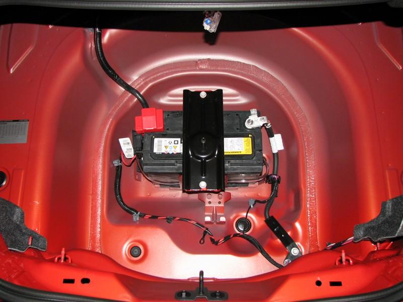 Attachment on Battery Location 2010 Camaro Ss