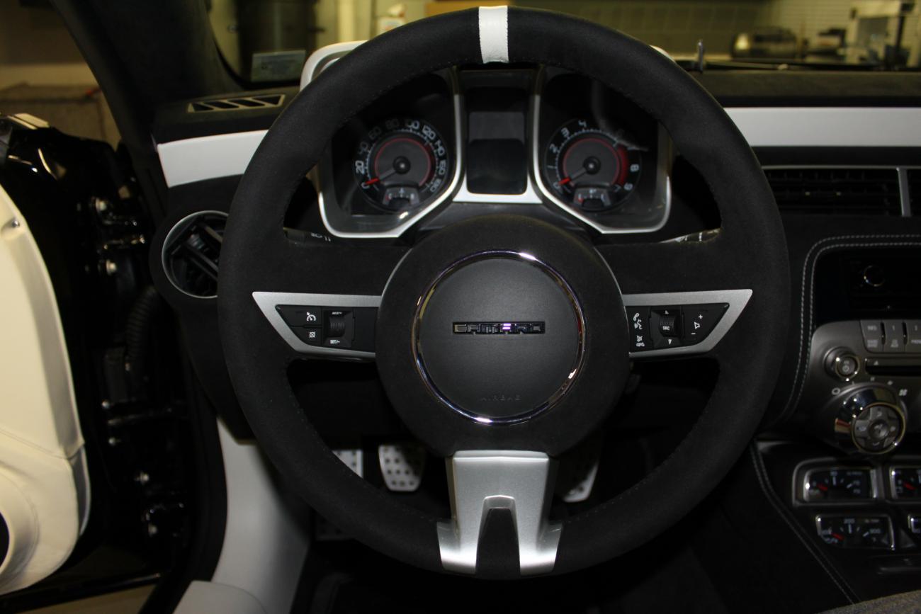 Fs Custom Black Alcantara Suede 2ss Steering Wheel