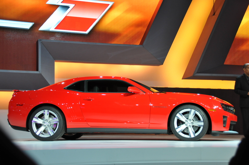Chevy Announced It Zl1 Camaro Supercharged For 2012