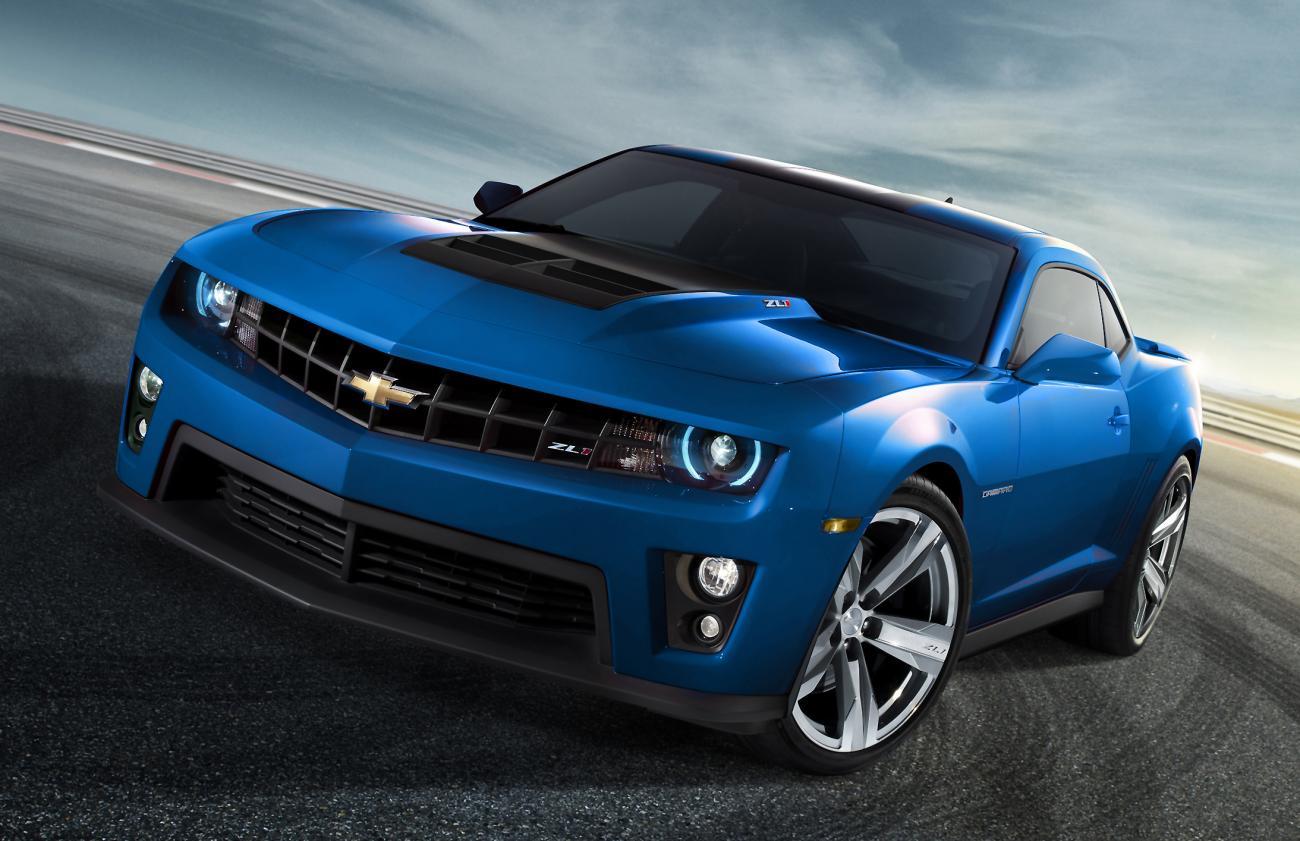 2014 Camaro Zl1 Blue