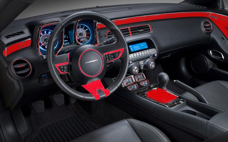Red Black Interior Color Scheme Camaro5 Chevy Camaro
