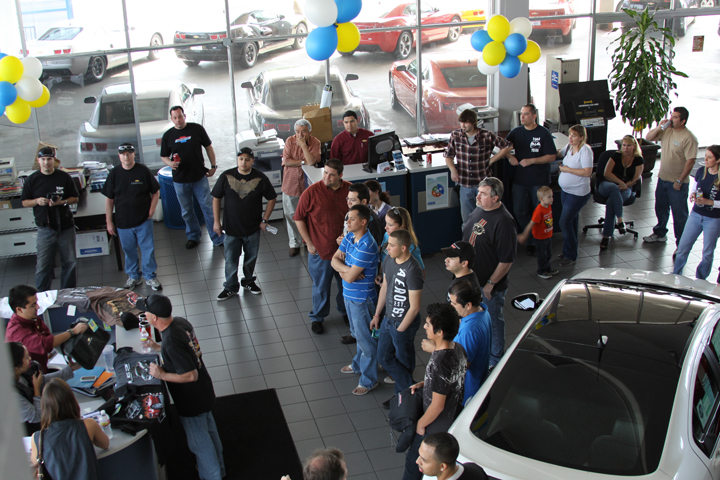 camino real chevrolet launch event & marriage proposal - camaro5