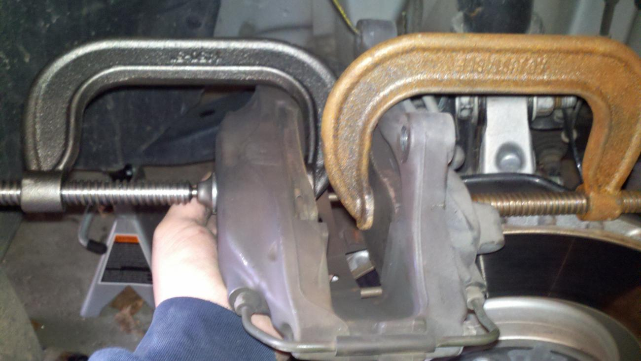 Camaro SS 2010-2015 brake pad rotor caliper remove replace change how to