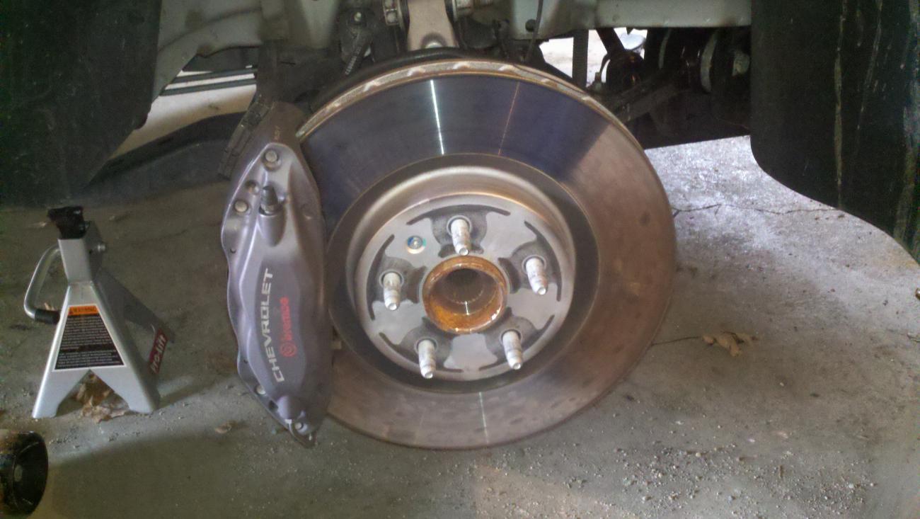 Diy Change Brake Pads Rotors Camaro5 Chevy Camaro Forum Wiring Diagram 2000 Ss Name No Wheel Views 61933 Size 1000 Kb