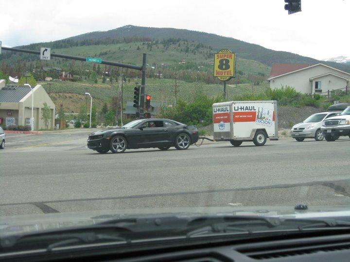 Pulling a U-Haul with Camaro? - Camaro5 Chevy Camaro Forum