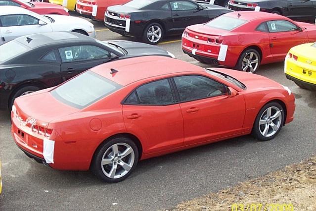 4 Door Camaro! Is this the new Impala? See Photo - Camaro5