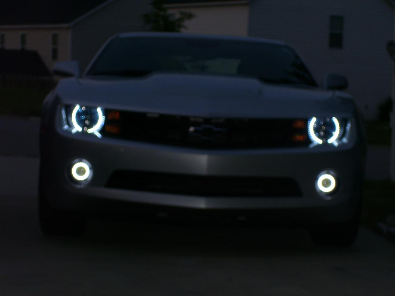 Lights! Halos Harness Plug and Play Adapter Kit,Gain Control of your Daytime Running Headlights Fog Muzzys 2010-2013 Chevrolet Camaro DRL