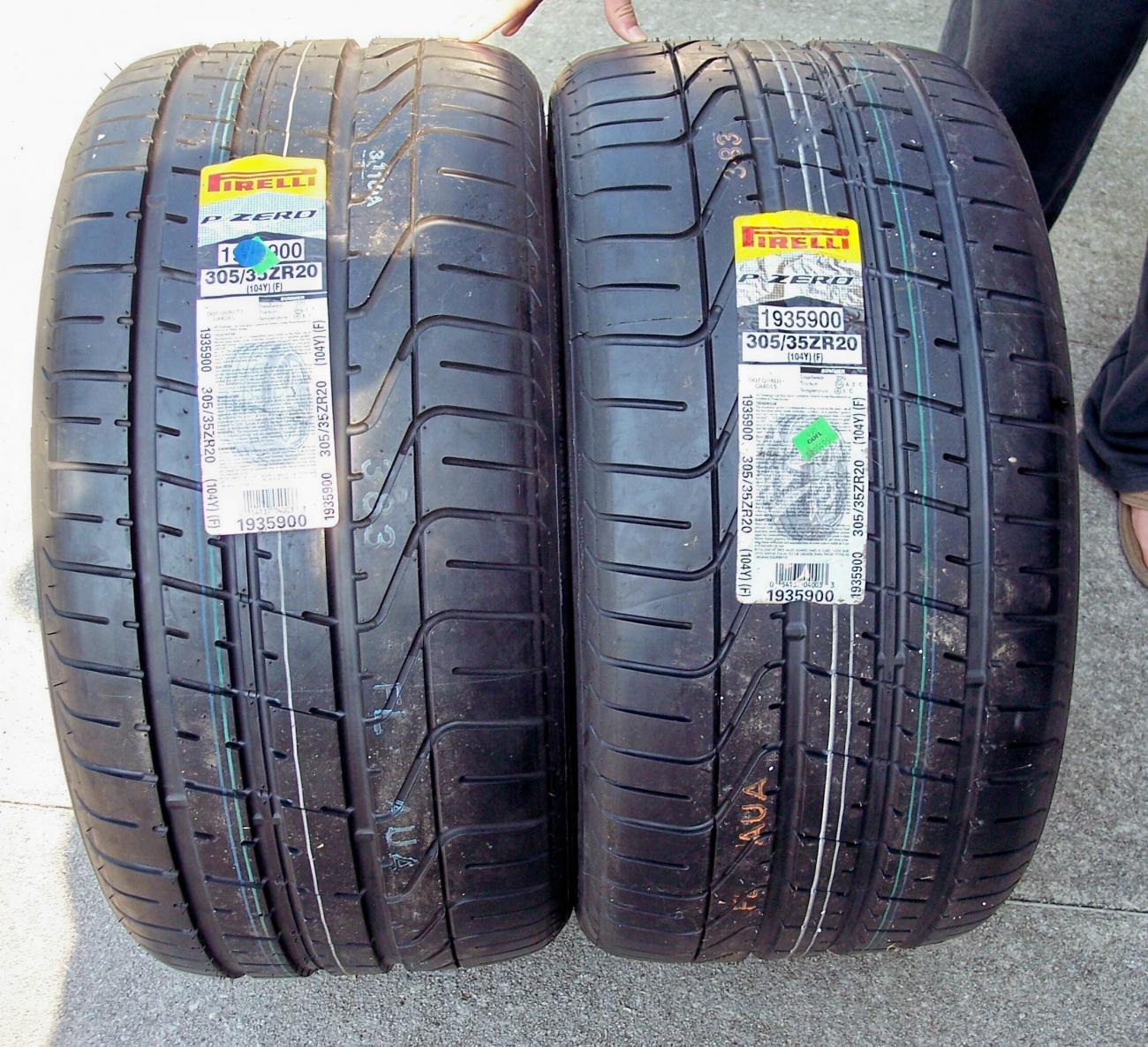 Brand New Pirelli P Zero 305 35 20 Camaro5 Chevy Camaro