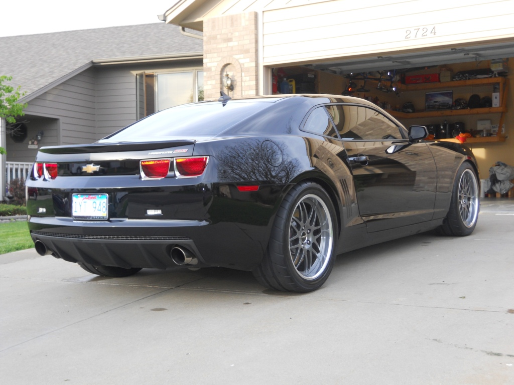 Recommended Tire Sizes For 2010 Camaro Camaro5 Chevy