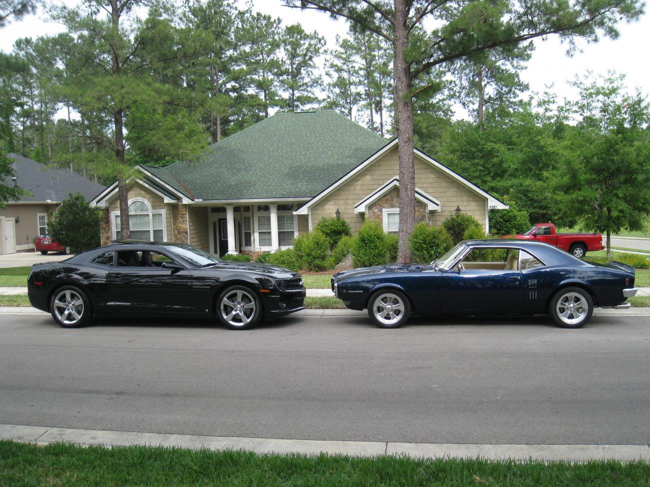 old VS New -- 1967 Pontiac VS my 2010 Camaro with pictures - Camaro5 ...