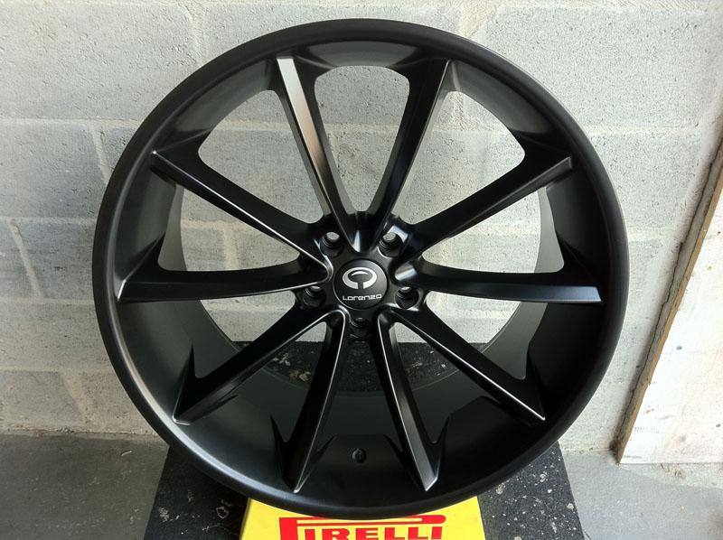 New 22 Quot Lorenzo Wl32 Matte Black Chrome Wheel Tire