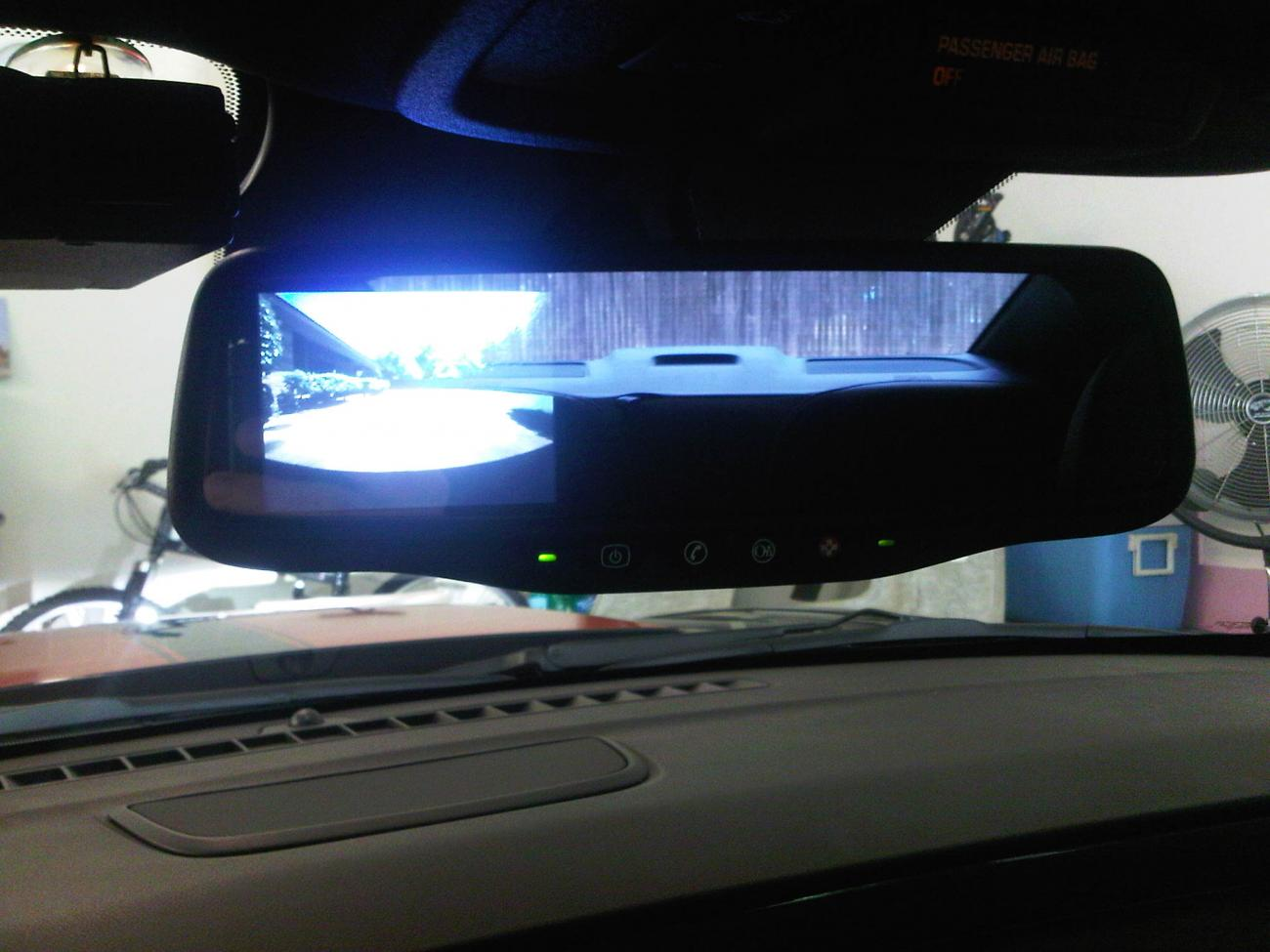 Fs Oem Camaro Rear View Camera System Plug And Play