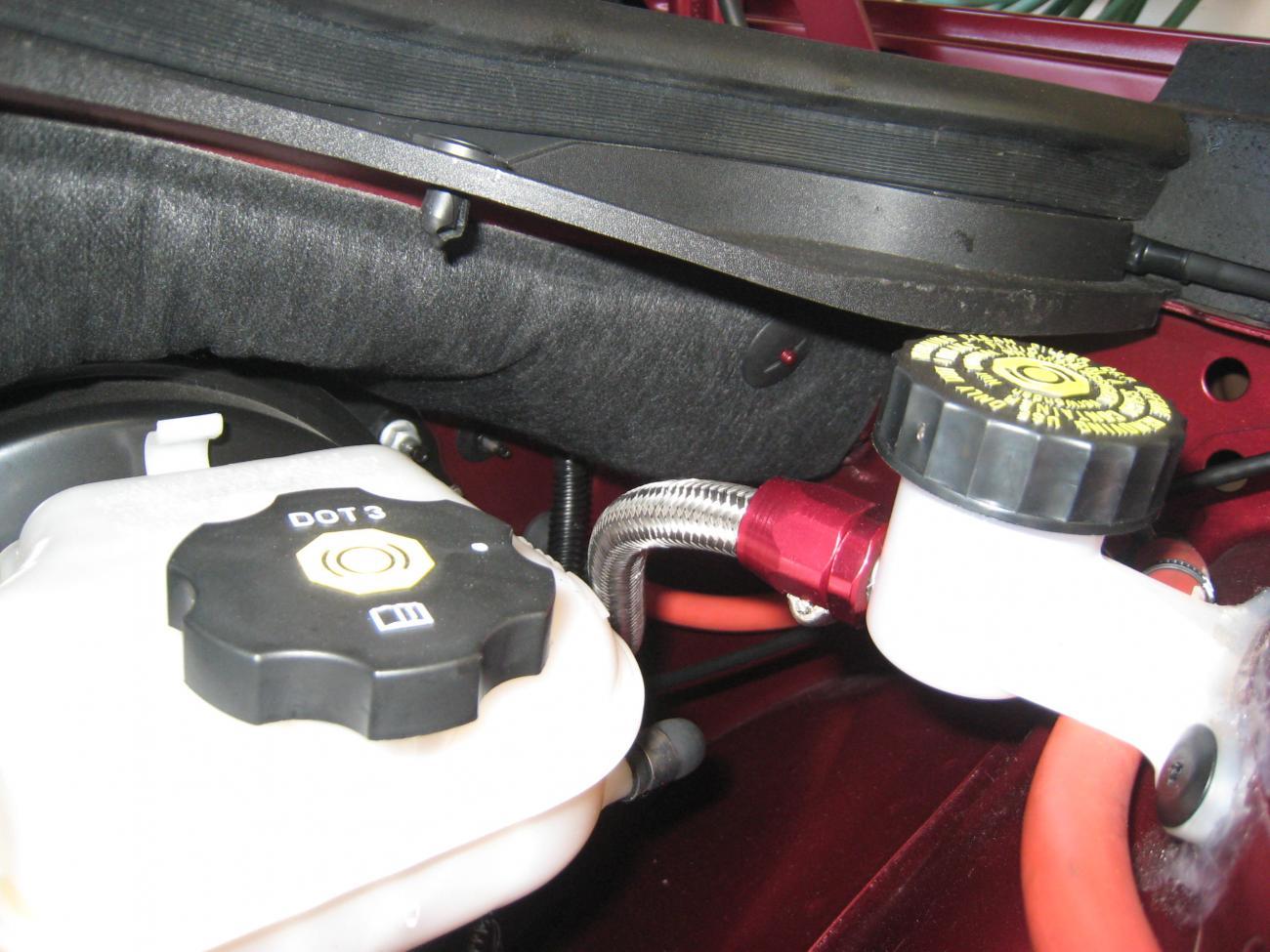 Gto Clutch Reservoir Install Camaro5 Chevy Camaro Forum