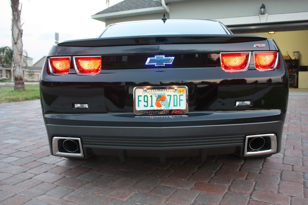 Looking for square exhaust facia trim - Camaro5 Chevy Camaro
