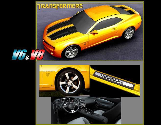 Limited Edition 2010 Camaro BumbleBee announced by GM  Camaro5