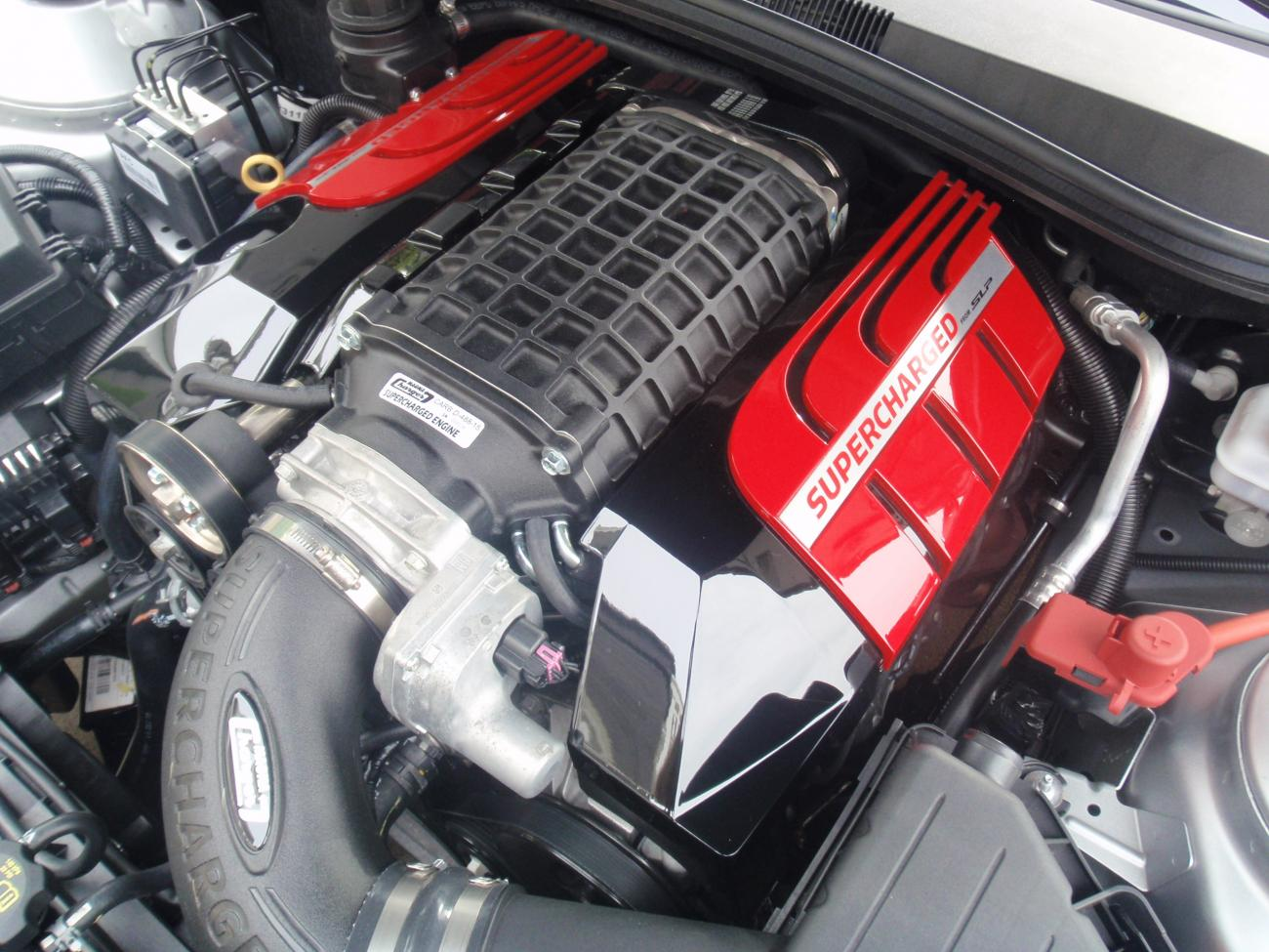 Magnuson Supercharger Installed Pics Camaro5 Chevy