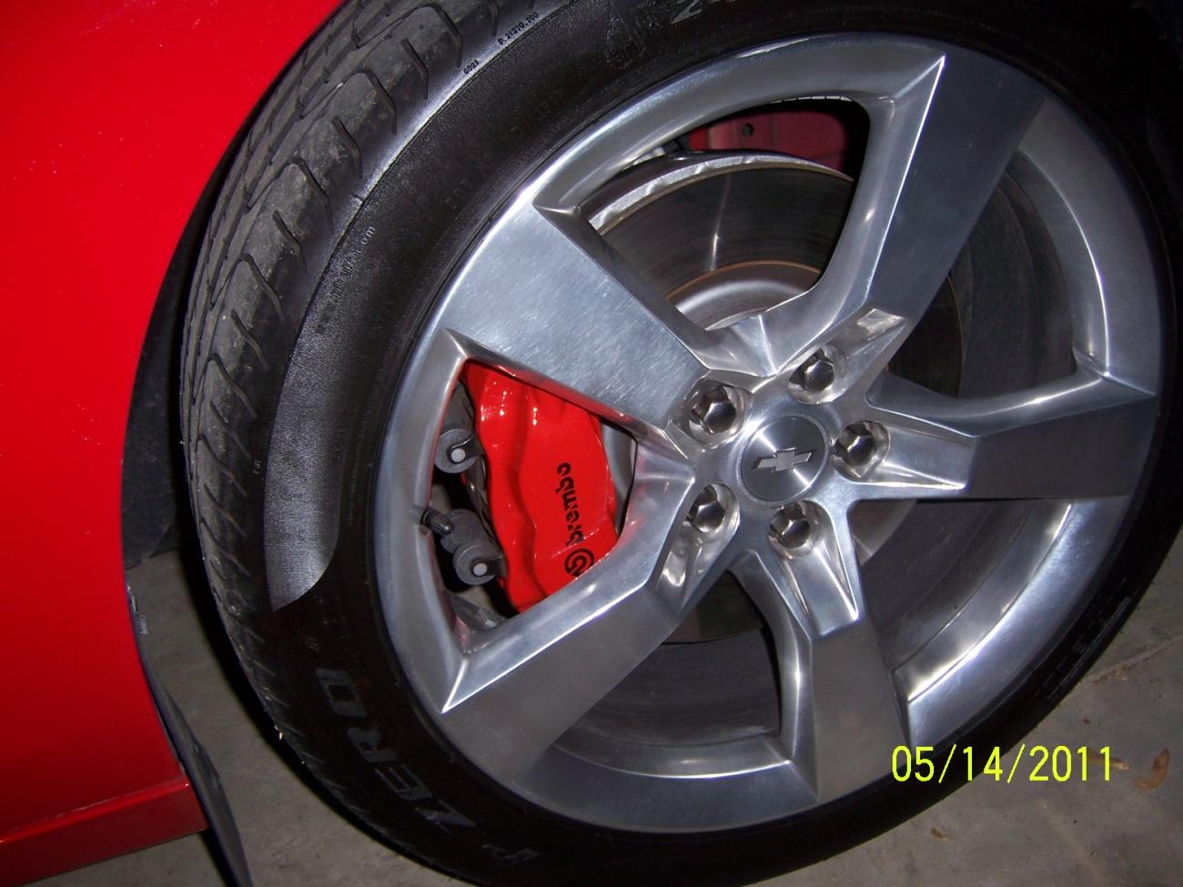 Victory Red Caliper Paint