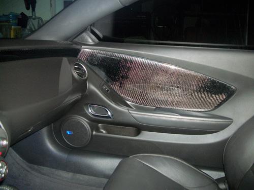 Carbon Fiber Door Panels And Dash Inserts Camaro5 Chevy