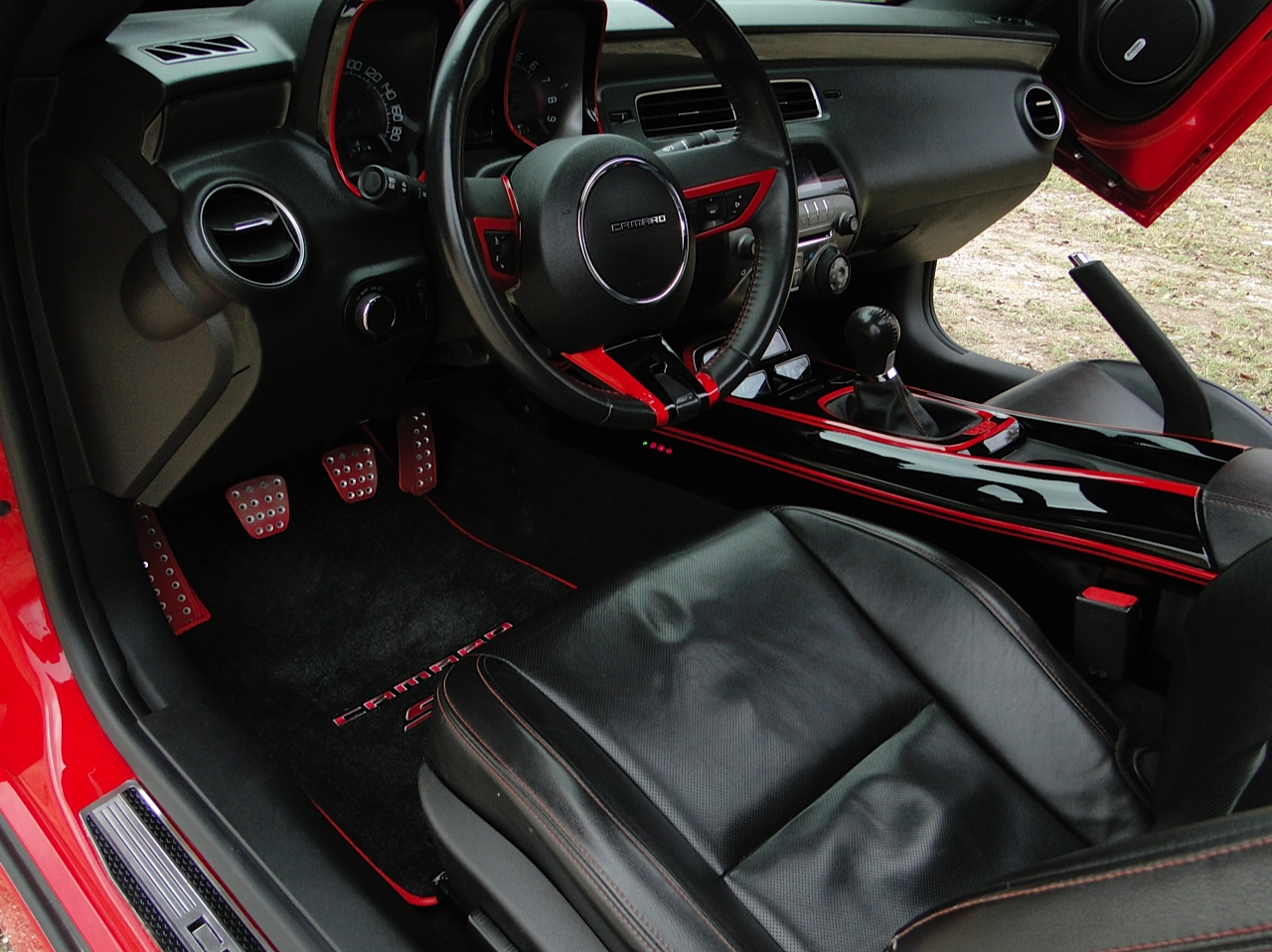 5Th Gen Camaro For Sale >> Custom Painted Smooth Center Console, gauge/shifter, steering and speedometer bezels - Camaro5 ...