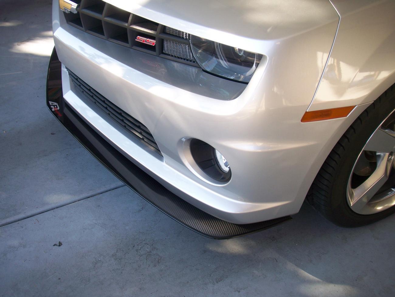 APR Carbon Fiber Splitter Installed - Camaro5 Chevy Camaro