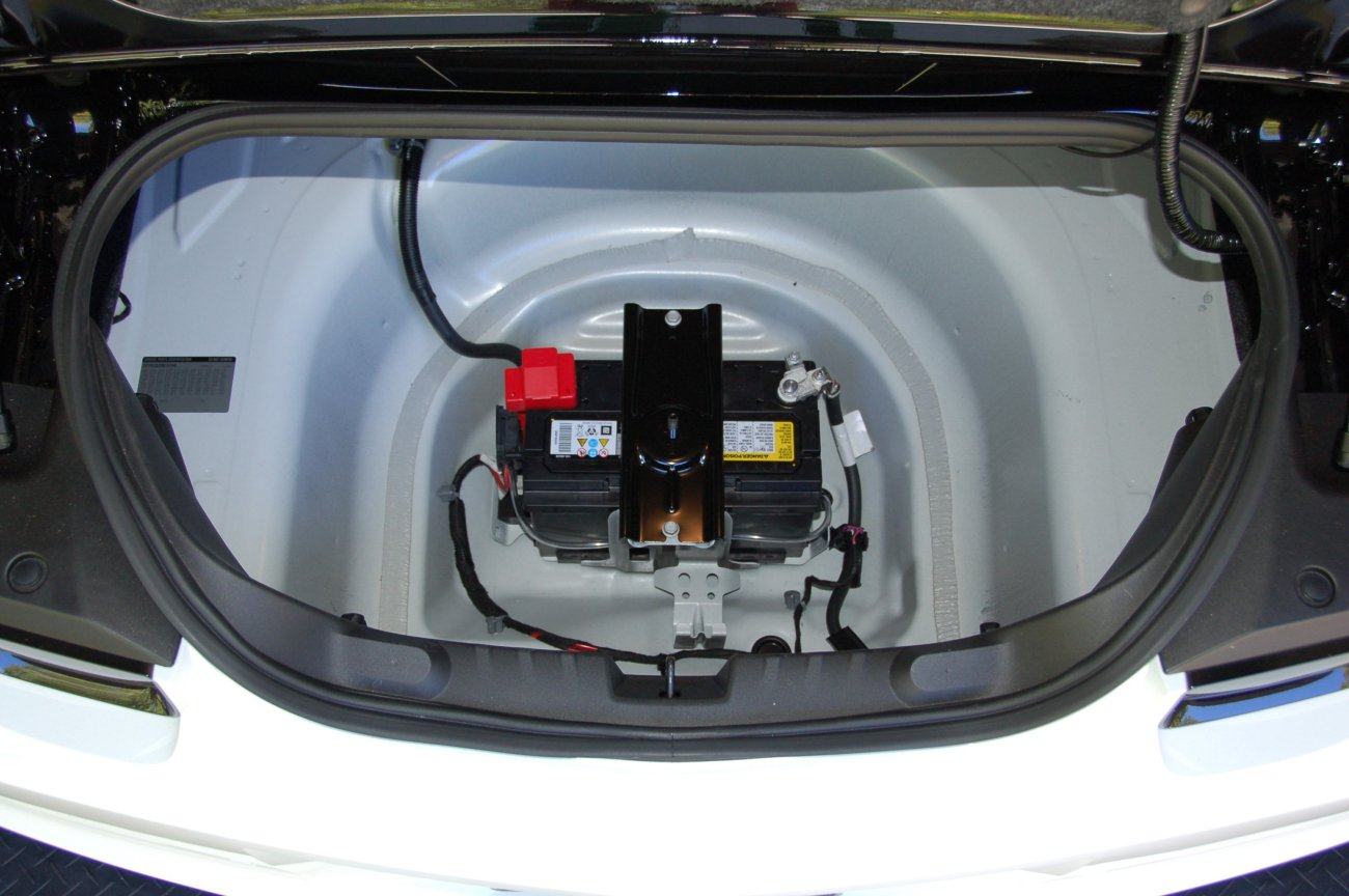 Attachment on 2011 Chevy Camaro Battery Location