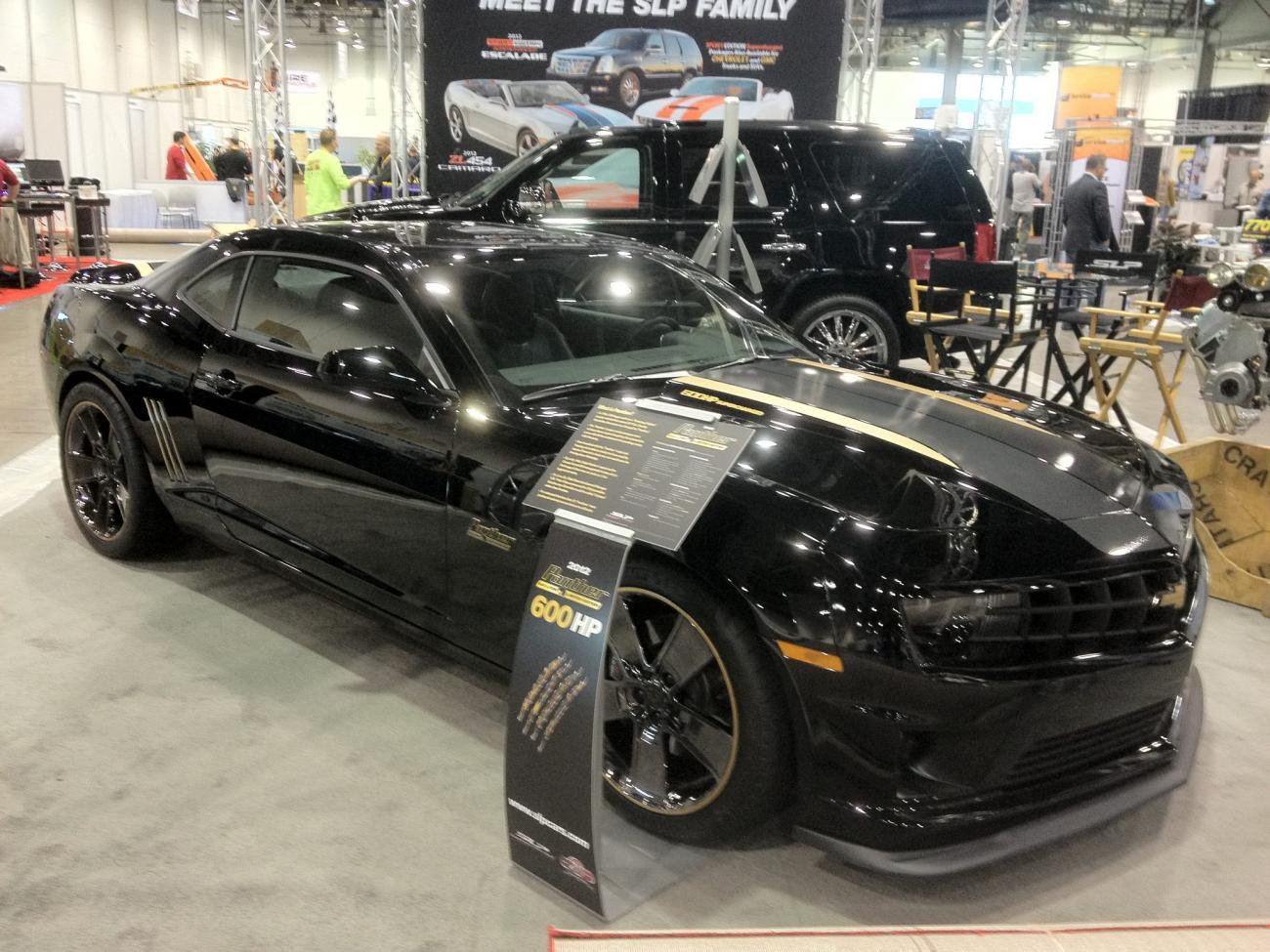 Slp Panther Camaro Limited Edition Announced 560 700hp