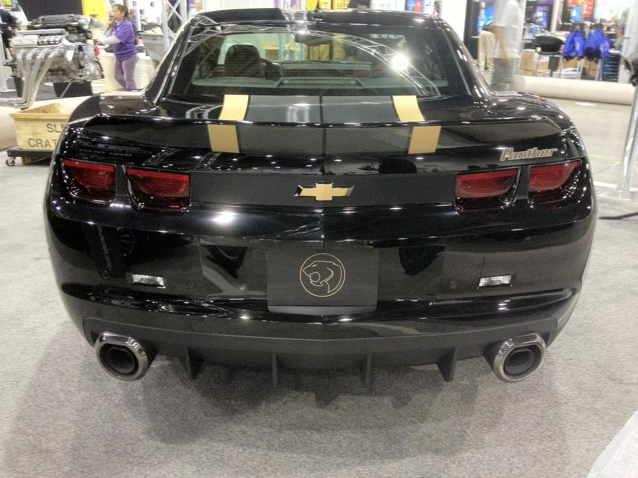 SLP Panther Camaro Limited Edition Announced. 560-700HP Versions to Be ...