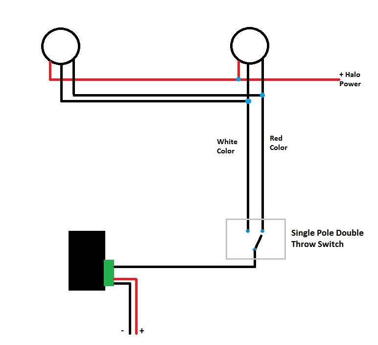 Dual Color Halos with Flush LED Switch Wiring (AAC) - Camaro5 Chevy Camaro  Forum / Camaro ZL1, SS and V6 Forums - Camaro5.comCamaro5.com
