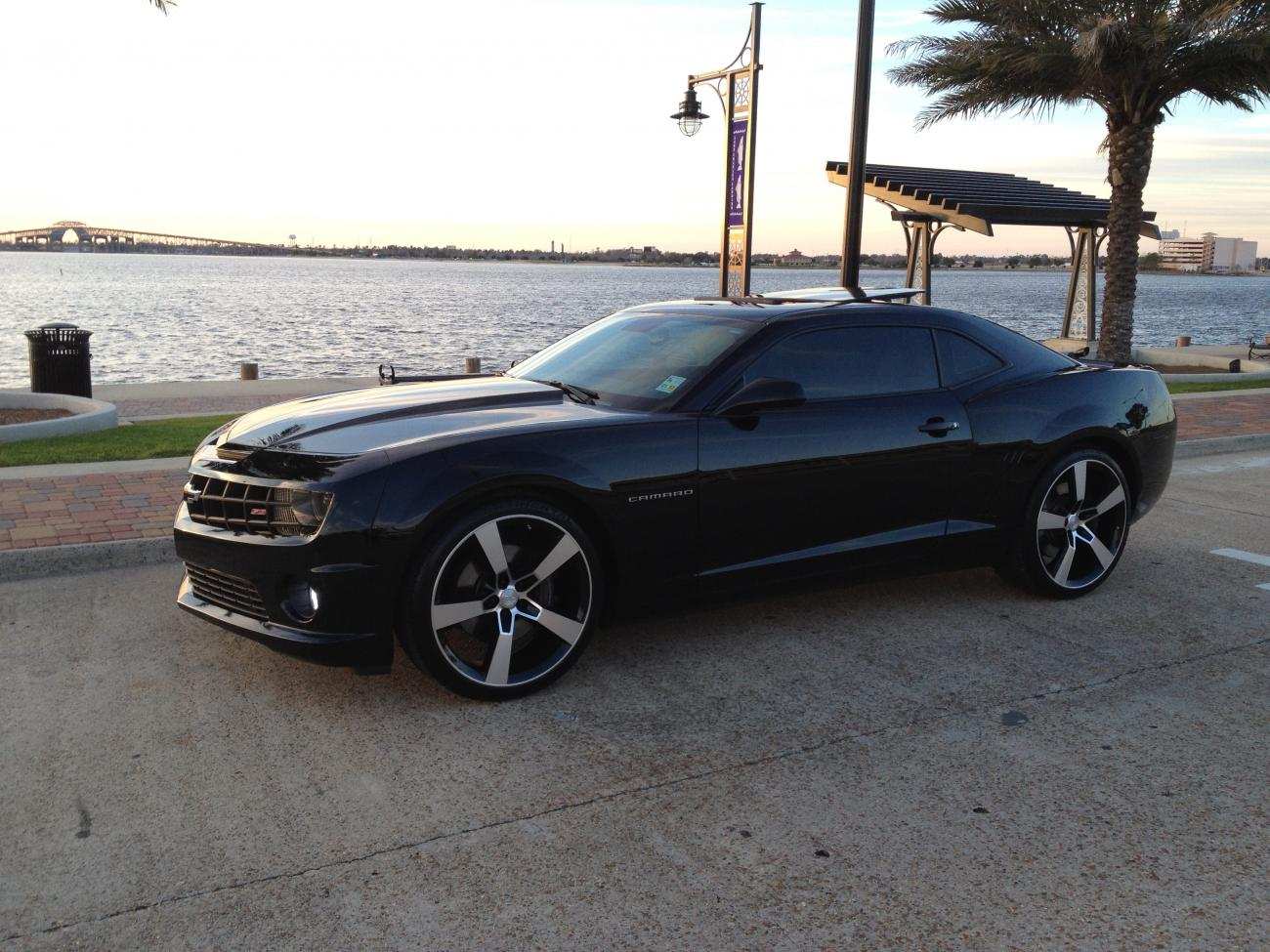 50 Inch Rims On Chevy : Quot inch staggered chevy camaro ss like wheels rims tire