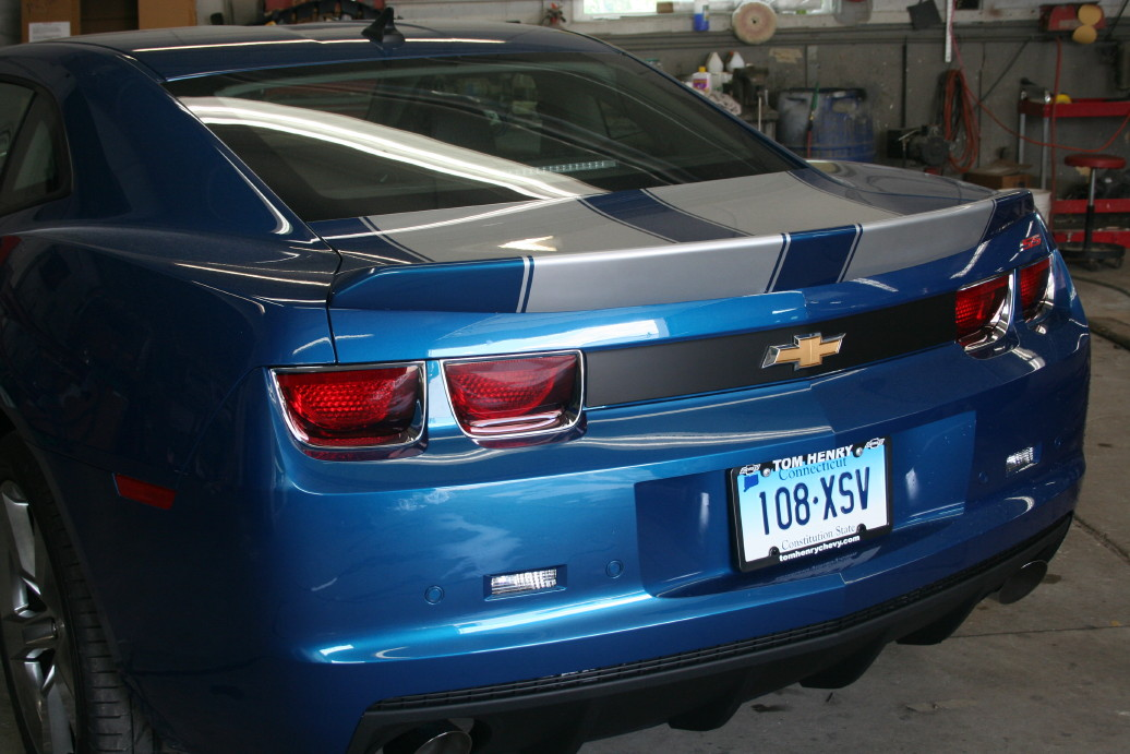 2012 Painted Camaro Rear Spoilers Html Autos Post