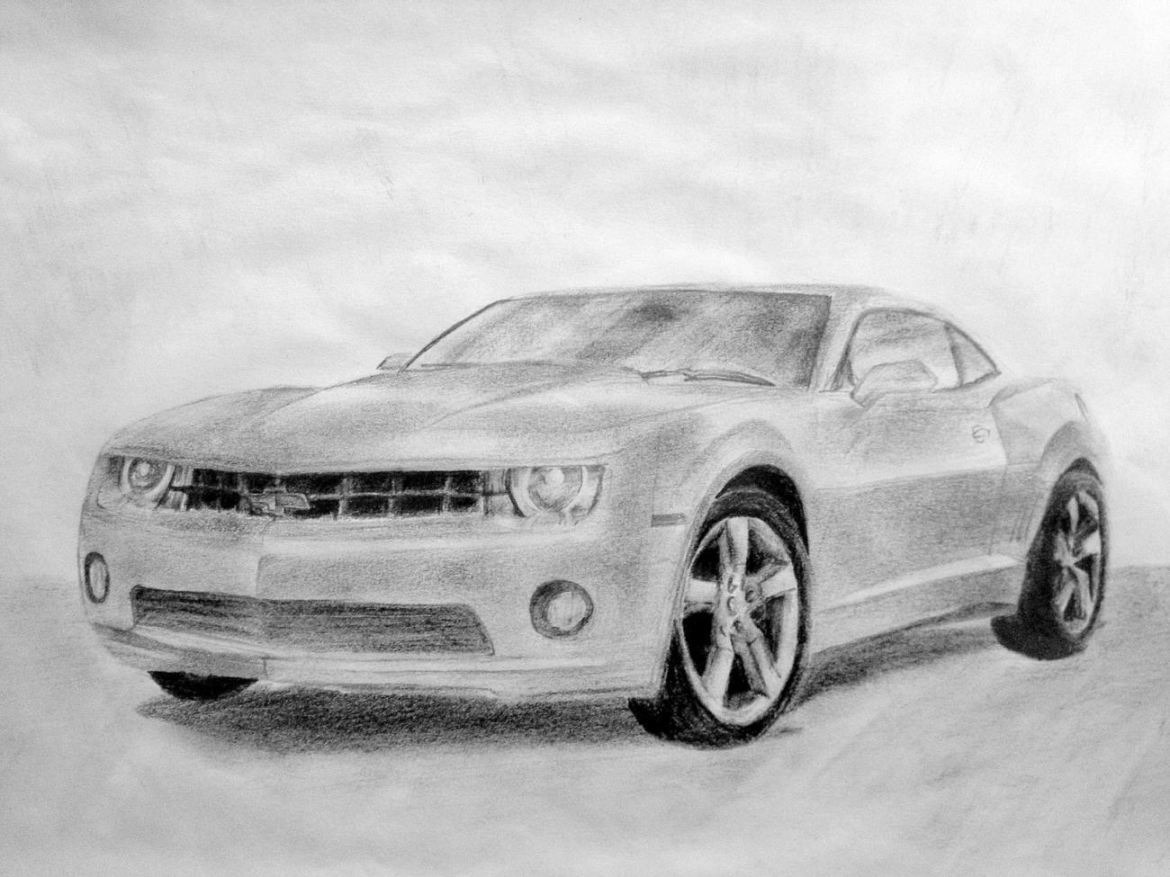 -Camaro Sketch- - Camaro5 Chevy Camaro Forum / Camaro ZL1 ...