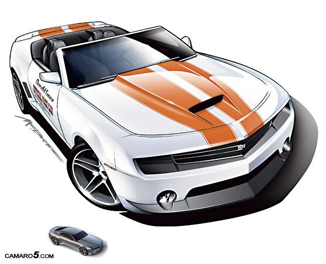 Concept sketches of Camaro Convertible - Camaro5 Chevy ...